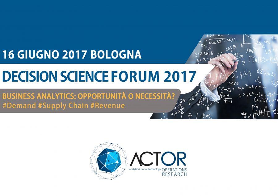 Decision Science Forum 2017