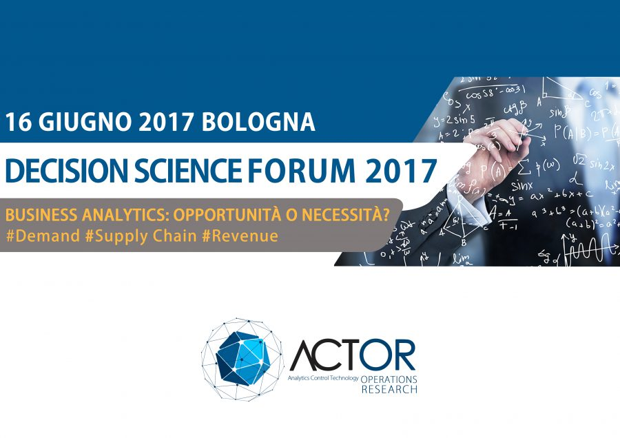 Decision Science Forum 2017