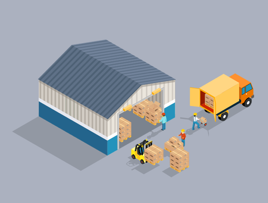 Warehouses, Transportation and Distribution