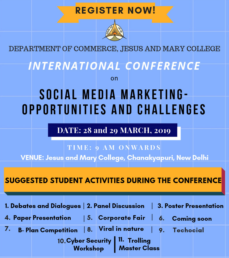 Conference activities